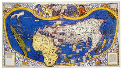 Mapa Waldseemuller de 1507