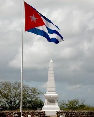 obelisco de la muerte de Martí en Dos Ríos, Cuba