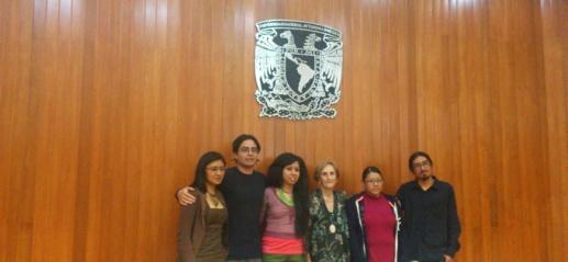 Monserrat Ríos, Pablo Guerrero, Claudia Amador, Carmen Rovira, Cynthia Damián, Héctor Luna