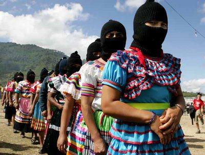 Mujeres indígenas en defensa