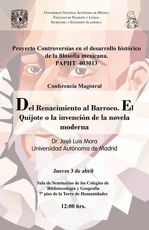 Conferencia José Luis Mora