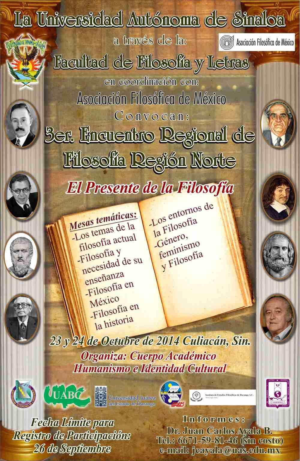 3er Encuentro Filosofía Región Norte, 2014