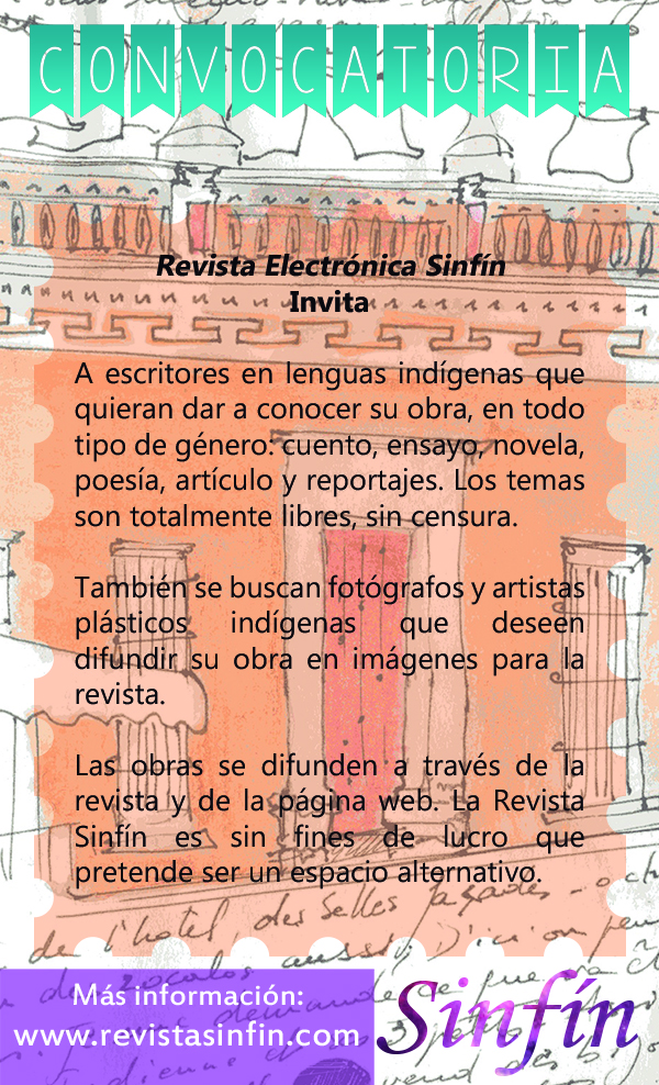 Convocatoria Indigena Sinfín