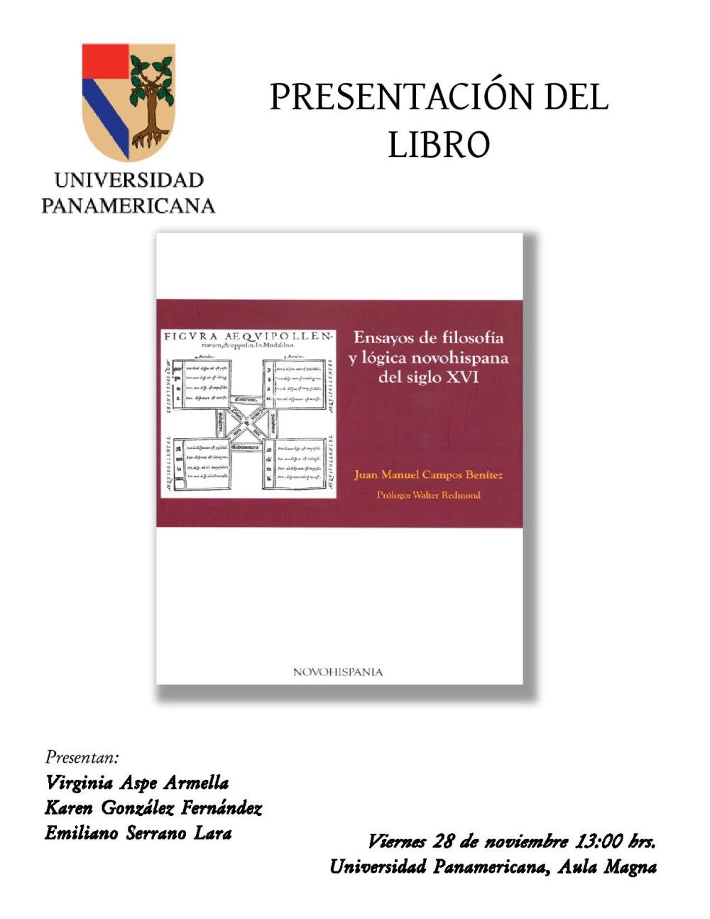 PRESENTACION LIBRO DE LOGICA DE JUAN MANUEL CAMPOS, UP, NOV 2014-page-001