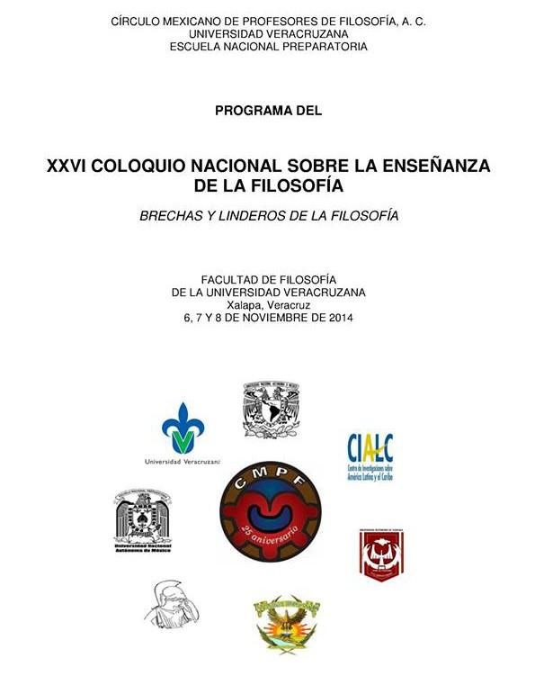 XXVI Coloquio CMPF