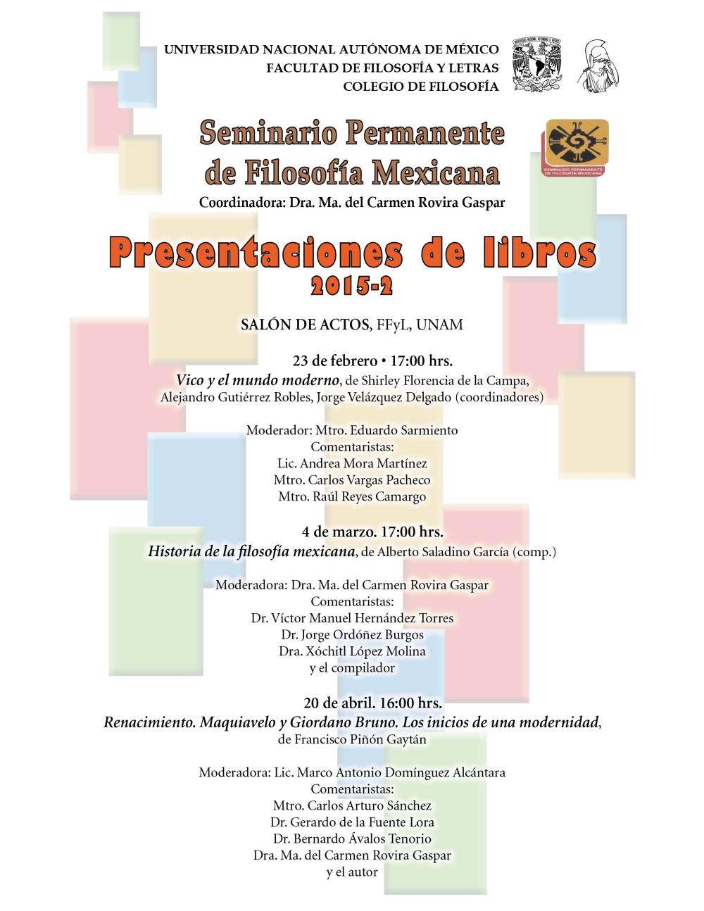Presentación libros SPFM