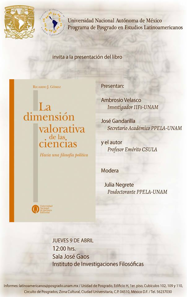 libro dimension valorativa