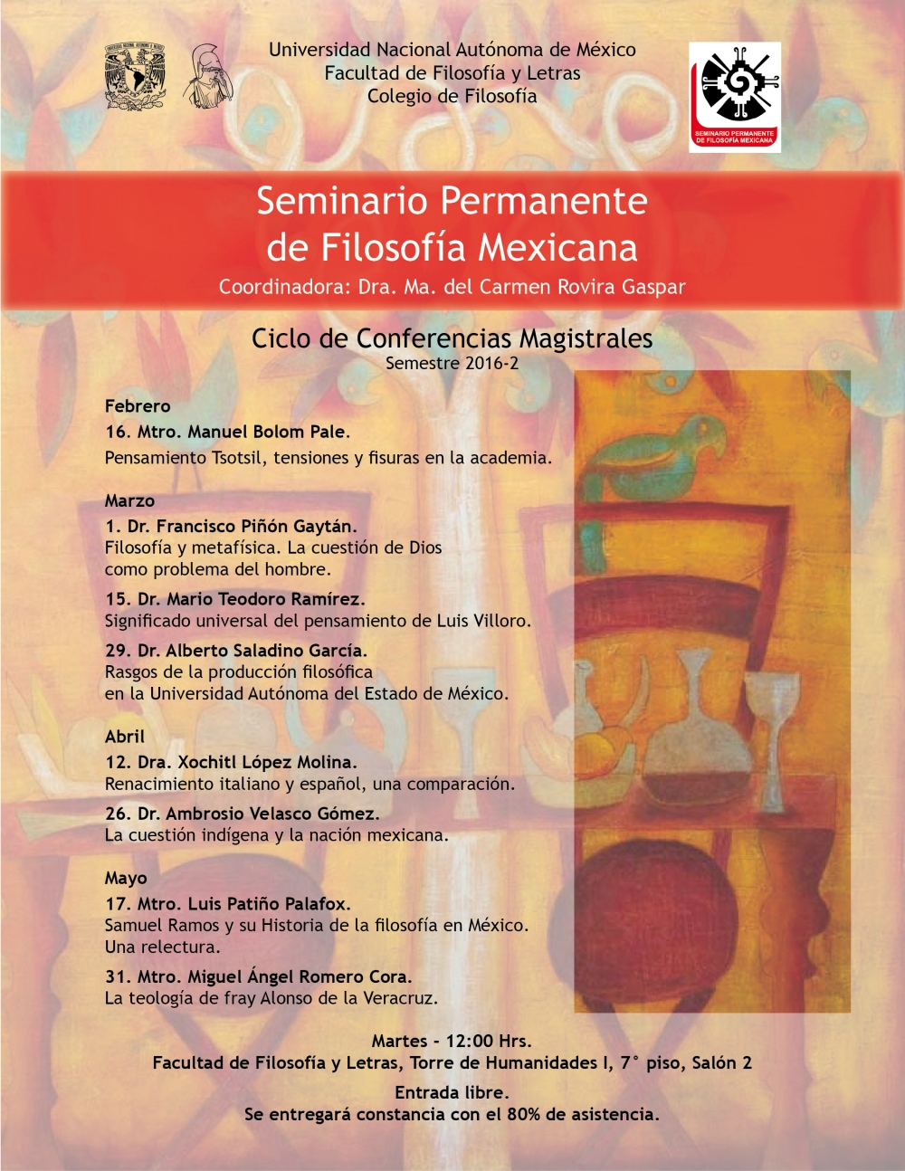 Conferencias Magistrales 2016-2