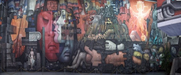 """""""Integración de América Latina"""" de Jorge González Camarena"""