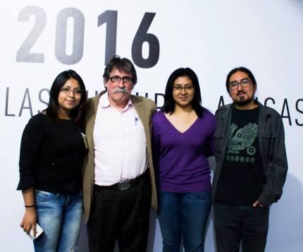 Ariadna Odette Martínez, Ambrosio Velasco Gómez, Monserrat Ríos y Héctor Eduardo Luna FCA 2016