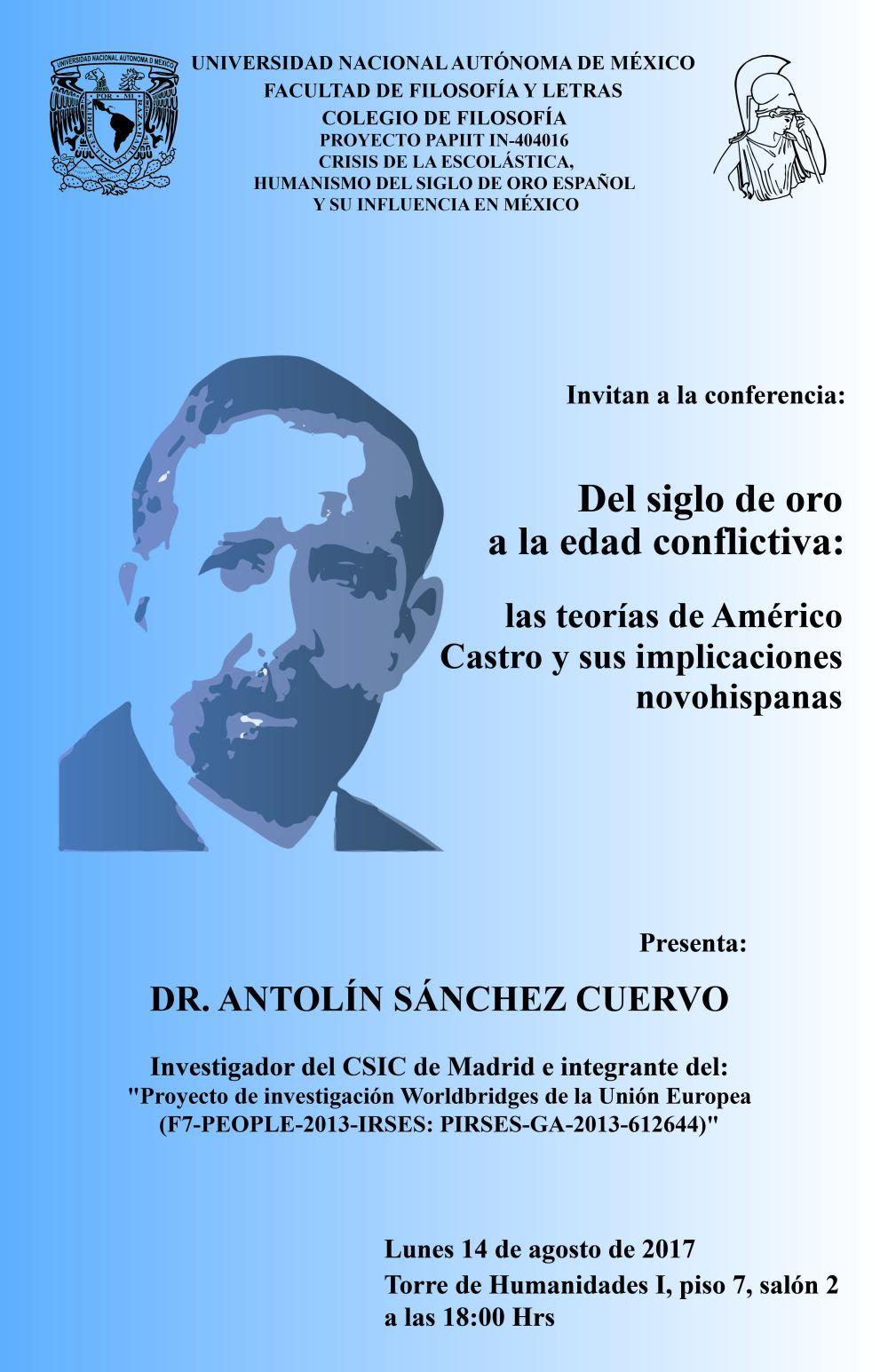 Conferencia Americo Castro Antolín Sánchez.jpg