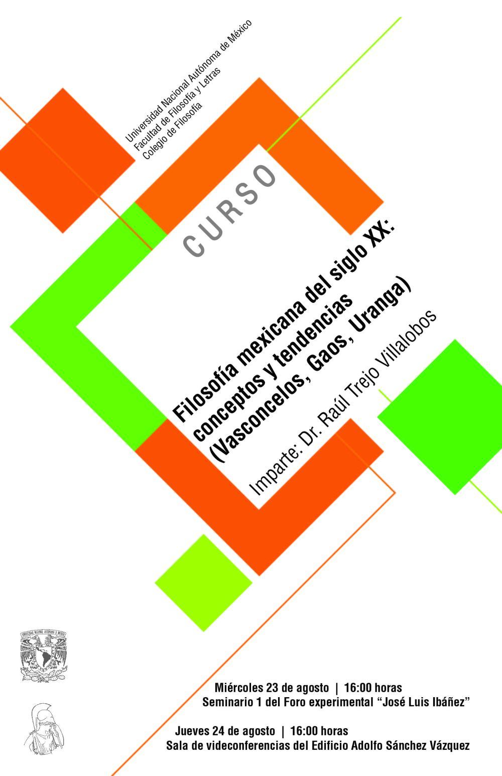 Curso Trejo Filosofía Mexicana XX