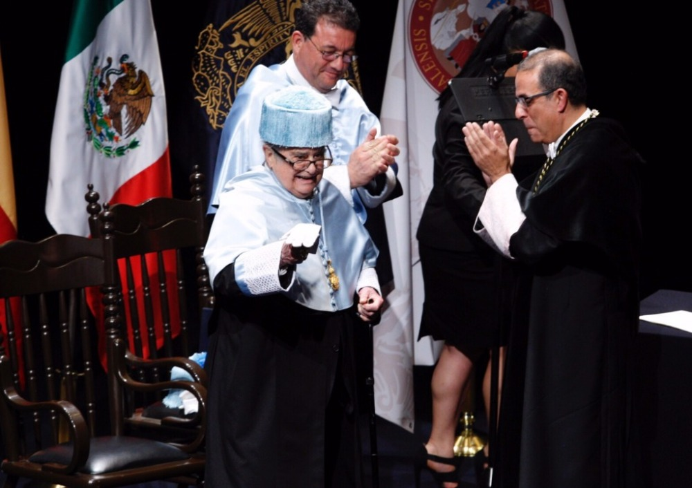 León-Portilla Honoris Causa Sevilla 2017